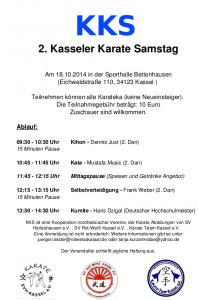 Kasseler Karate Samstag - KKS